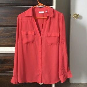 New York and co dress shirt